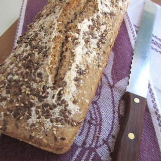 Seed Bread Loaf.