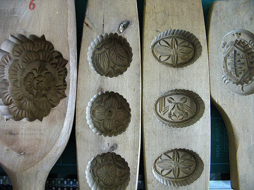hong kong mooncake mold