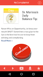 21 Day Fast from Complaining- screenshot thumbnail