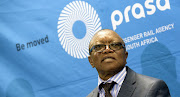Former Prasa board chairperson Popo Molefe. The board he chaired was dismissed by then transport minister Dipuo Peters in March 2017. File photo.