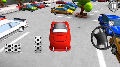 卡通车停车