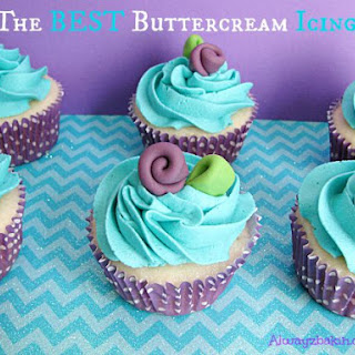 The BEST Buttercream Icing