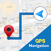 GPS Route Finder Navigation And Compass