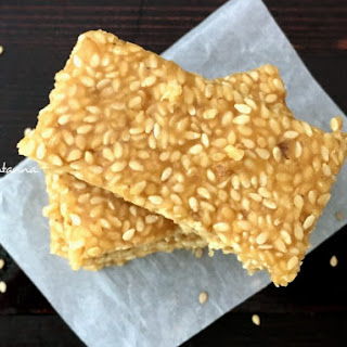 Calcium Rich Snack – Sesame Bar Recipe
