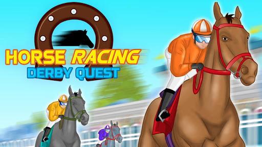 Horse Racing : Derby Quest APK MOD – ressources Illimitées (Astuce) screenshots hack proof 2