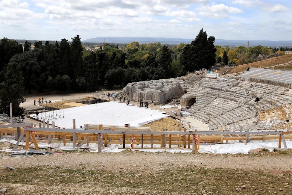Syrakuzy, Obszar Archeologiczny Neapolis, Teatr Grecki