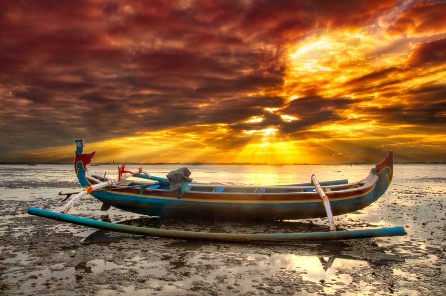 Jukung by Manu Teja - Transportation Other