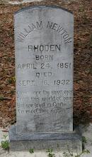 Photo: William Newton Rhoden son of Isham J Rhoden and Annie Ellen Cathcart / Husband of Dora Ann Thompson