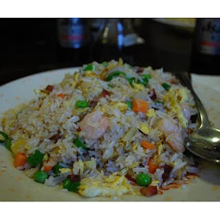 Fried Rice With Shrimp and Ham