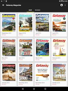 Getaway Magazine- screenshot thumbnail