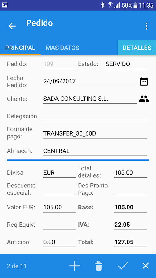 myGESTION APP - Facturación y Gestión Empresarial (Unreleased): captura de pantalla