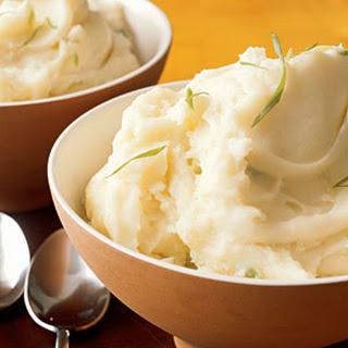 Mashed Sour Cream and Scallion Potatoes