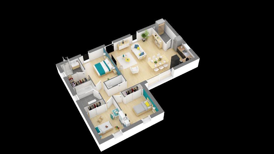 Vente maison 4 pièces 89 m² à Loupiac (33410), 219 496 €