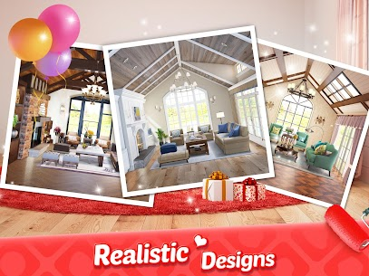 My Home Design Dreams Mod Apk 1.0.260 (Unlimited Money + Lives) 9