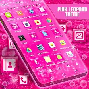 Pink Leopard Téma - náhled