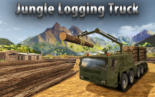 Jungle Logging Truck Simulator  screenshots 1