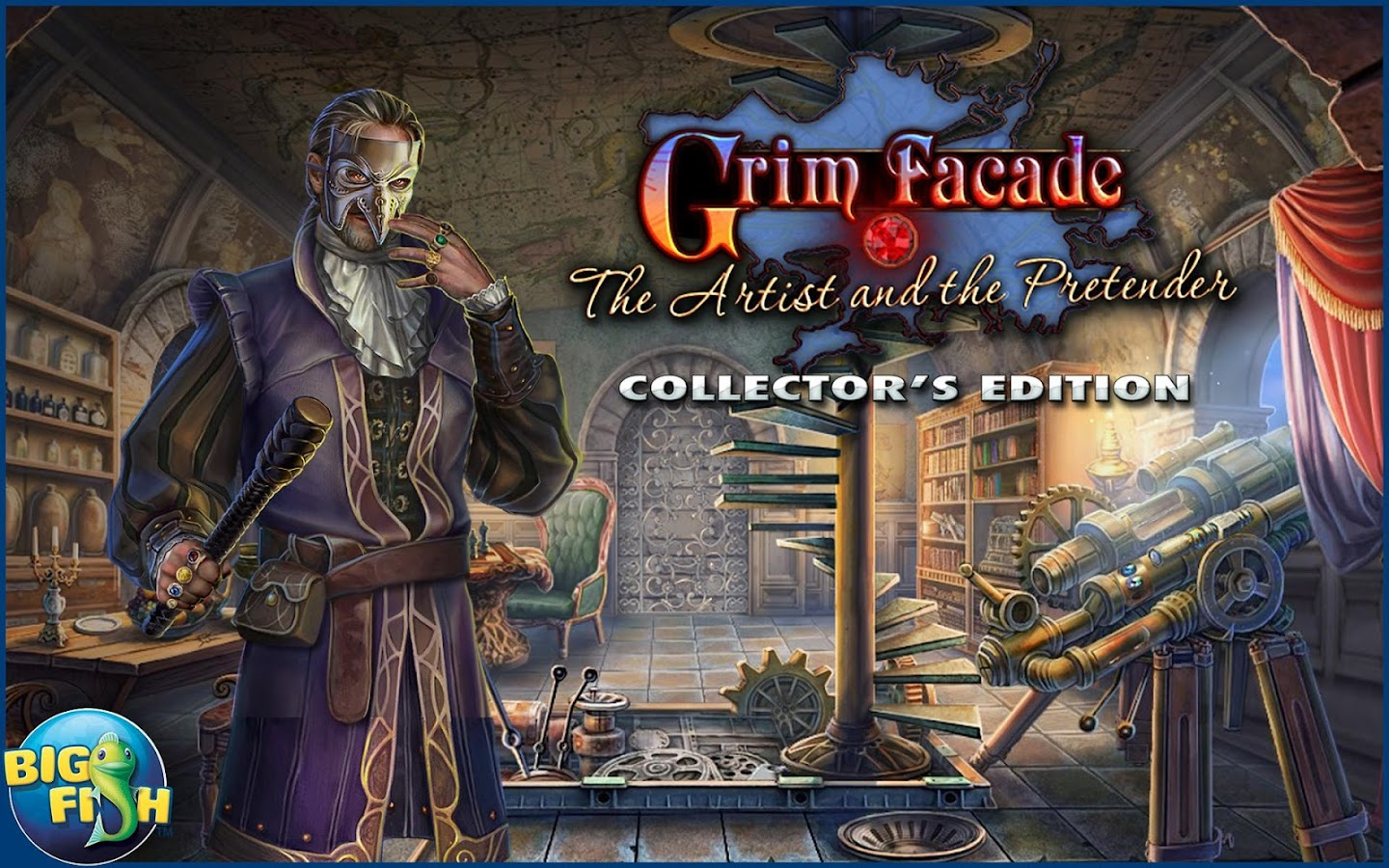Grim Facade: The Artist- screenshot