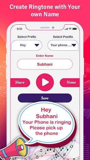My Name Ringtone Maker & Call Name Ringtone screenshots 2
