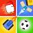 2 3 4 Player Mini Games logo