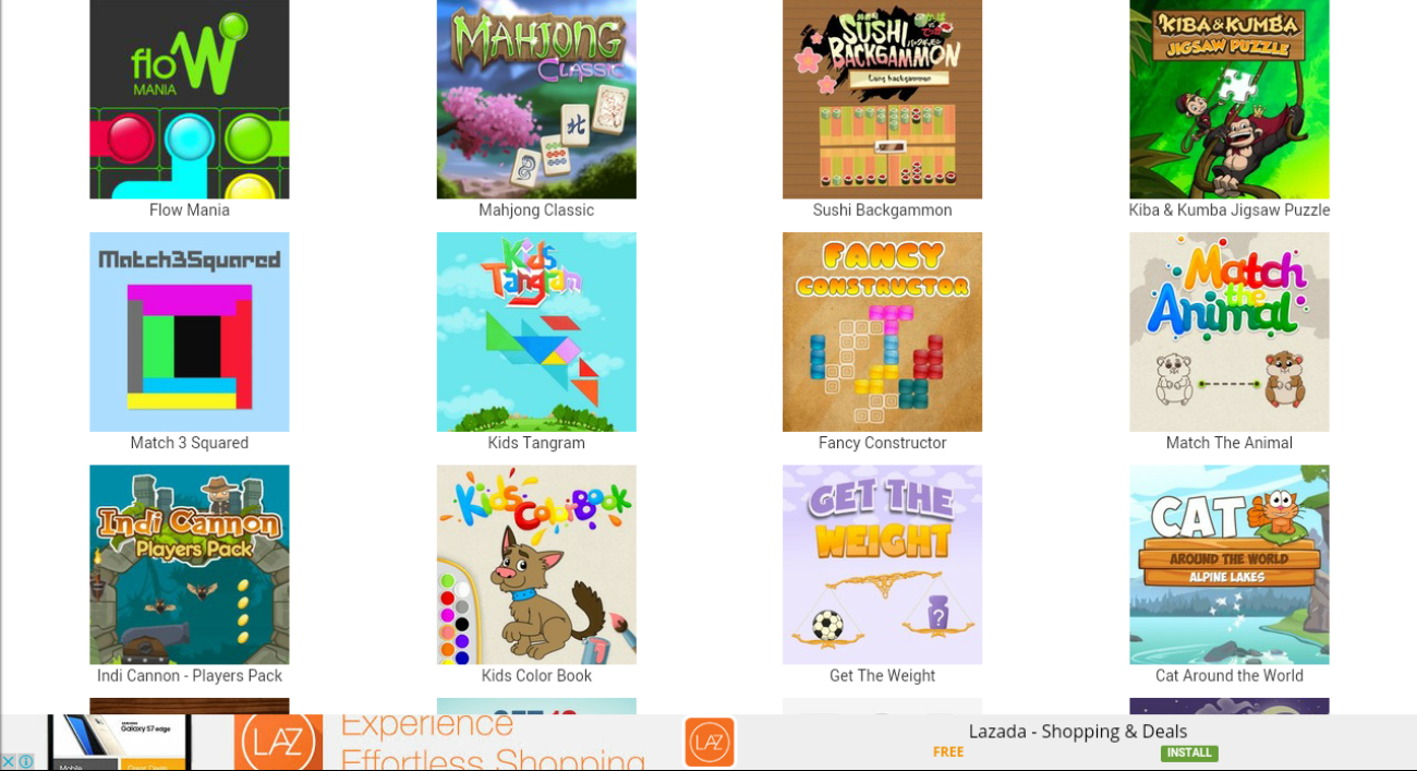 HTML5 Games- screenshot