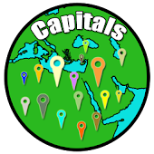 Country Capitals - Map