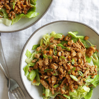 Asian Lettuce Wrap Chicken Chopped Salad