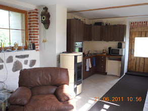 Photo: The kitchen almost finished on June 21 2011