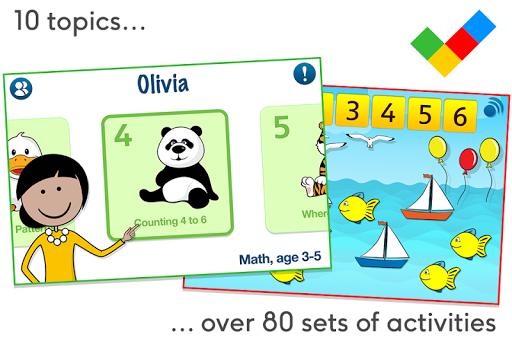 Math for children age 3-5