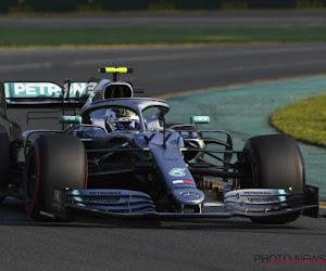 Mercedes-rijder doet in Melbourne wat hem het hele vorige seizoen niet lukte, Verstappen mee op het podium