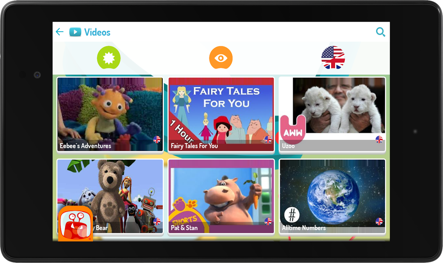 KIDOZ TV: Best Videos for Kids- screenshot