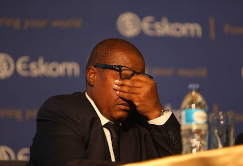 Solidarity going for Brian Molefe's household goods if he