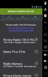 MONACO RADIOS FM LIVE - náhled