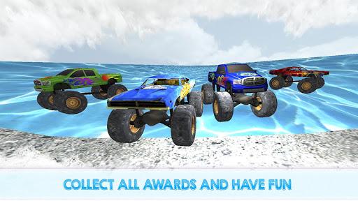 Monster Truck Water Slide Driving Simulator 1.0.0 screenshots 4