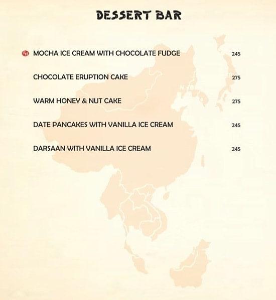 Rred Hot Cafe menu 9