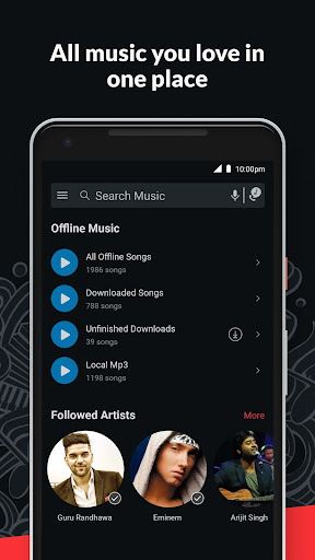Wynk Music- New MP3 Hindi Songs Download HelloTune 3.9.1.0 screenshots 3