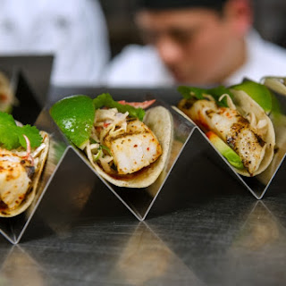 Grilled Sea Bass Tacos