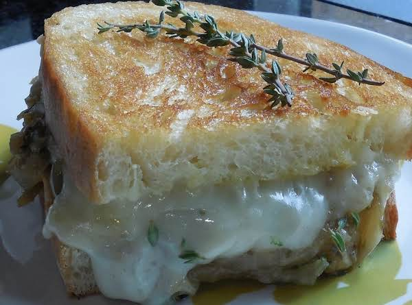 Whiskey Business Grilled Cheese