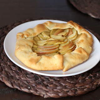 Simple Apple Galette or Rustic Tart