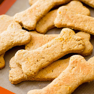 Soft Peanut Butter Carrot Dog Treats