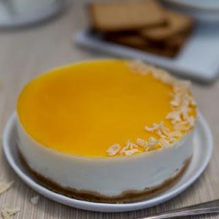 Coconut Greek Yogurt Cheesecake.