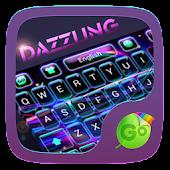 Dazzling GO Keyboard Theme