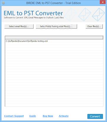 DOWNLOAD Birdie EML 2 PST Converter 3200 By Jamessul
