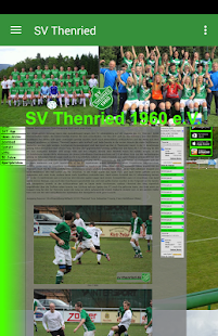 SV Thenried 1960 e.V.- screenshot thumbnail