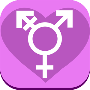 TransSingle ♥ Transgender Dating App icon