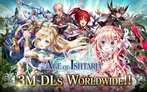 Age of Ishtaria – A.Battle RPG 1.0.34 Mod Apk [God Mod] 1
