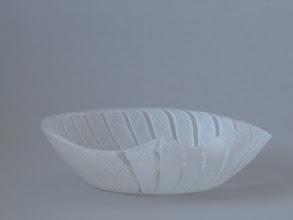 Photo: Zanfirico bowl with sticker.