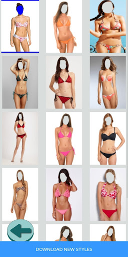 Bikini Photo Shoot + Selfie apkpoly screenshots 2