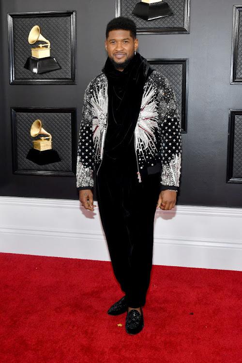 Usher at the 2020 Grammy Awards.