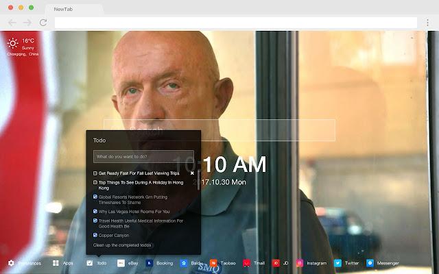 Better Call Saul TV Series HD New Tab Theme