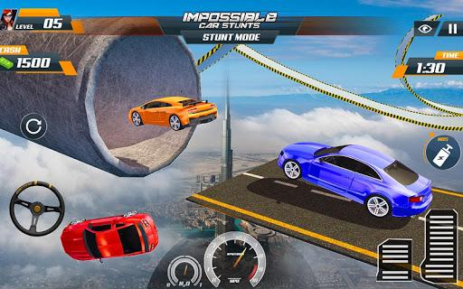 Speed Car Stunts 2018: Extreme Tracks Racing Games 1.0.3 screenshots 1